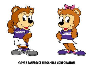 サンフレッチェ広島mascot