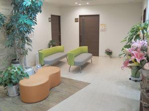 グッドライフクリニックの待合室の様子