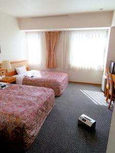 ホテル客室のオゾンクラスター1400使用事例