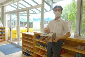ニコニコ桜保育園でオゾンクラスター1400が導入されました