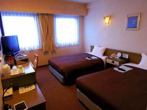 多くの客室を擁するホテル